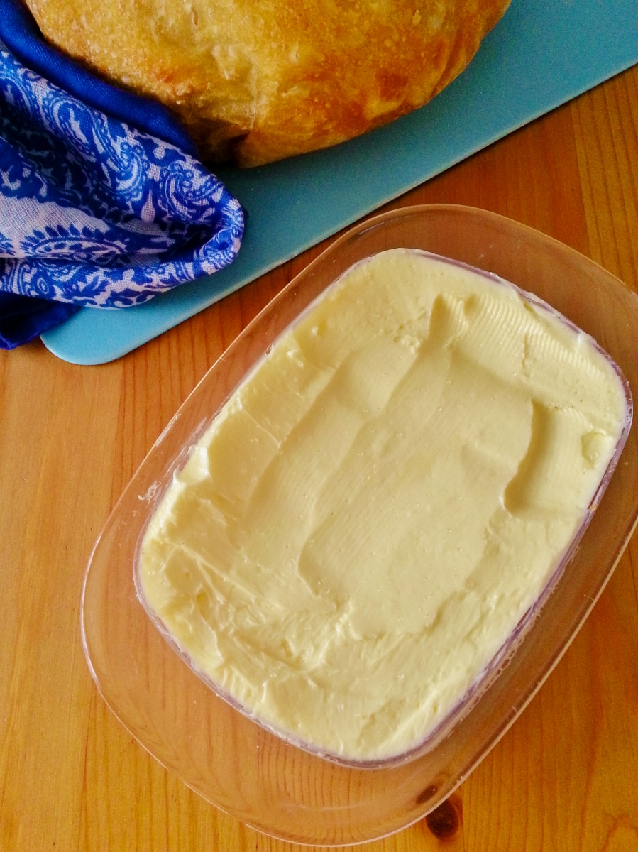 Homemade Butter in 10 Minutes