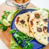 Naan – Leavened Indian Flat Bread - How to Make Naan Pictorial Guide Included